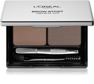 L'Oréal Paris Brow Artist Genius Kit zestaw do brwi