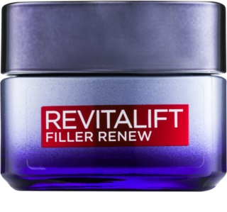 L'Oréal Paris Revitalift Filler нощен крем против стареене с хиалуронова киселина