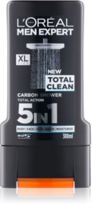 L'Oréal Paris Men Expert Total Clean τζελ για ντους 5 σε 1