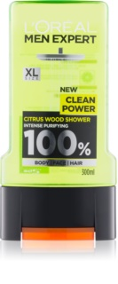 L'Oréal Paris Men Expert Clean Power gel de ducha