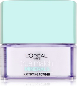 L'Oréal Paris True Match Minerals Transparenter Puder mit Matt-Effekt