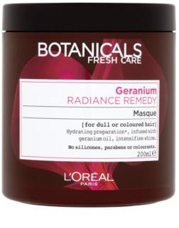 L'Oréal Paris Botanicals Radiance Remedy maszk festett hajra