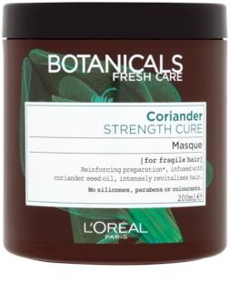 L'Oréal Paris Botanicals Strength Cure maszk meggyengült hajra