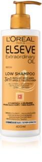 L'Oréal Paris Elseve Extraordinary Oil Low Shampoo creme de limpeza nutritivo para cabelo muito seco para cabelos muito secos
