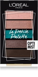 L'Oréal Paris La Petite Palette paleta sjenila za oči