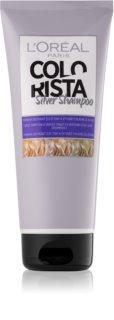L'Oréal Paris Colorista Silver șampon pentru neutralizarea tonurilor de galben