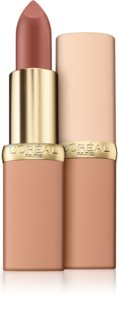 L'Oréal Paris Color Riche Matte Free The Nudes barra de labios hidratante y matificante