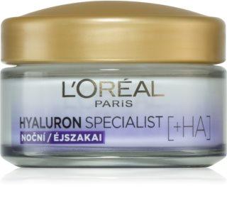 L'Oréal Paris Hyaluron Specialist crème de nuit restructurante