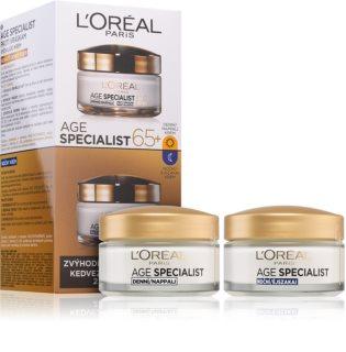 L'Oréal Paris Age Specialist 65+ καλλυντικό σετ I. (ενάντια στις ρυτίδες) για γυναίκες