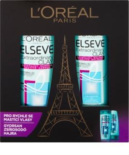 L'Oréal Paris Elseve Extraordinary Clay lote cosmético IV.