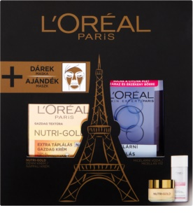 L'Oréal Paris Nutri-Gold kosmetická sada IV.