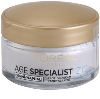 L'Oréal Paris Age Specialist 35+ crema de día antiarrugas