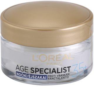 L'Oréal Paris Age Specialist 35+ нічний крем проти зморшок