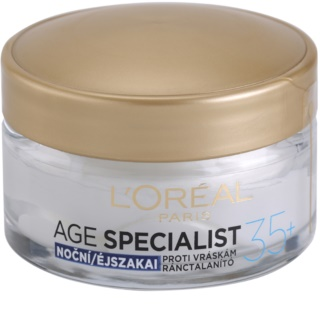 L'Oréal Paris Age Specialist 35+ Moisturizer Care Night Cream Anti Wrinkle