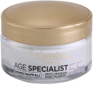 L'Oréal Paris Age Specialist 55+ dnevna krema protiv bora