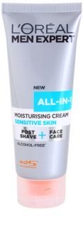 L'Oréal Paris Men Expert All-in-1 хидратиращ крем  за чувствителна кожа на лицето