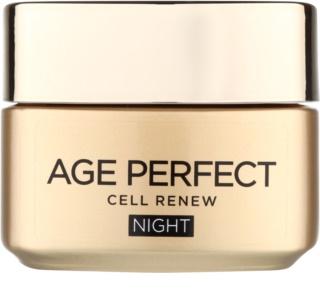 L'Oréal Paris Age Perfect Cell Renew Nachtcreme für die Erneuerung der Hautzellen