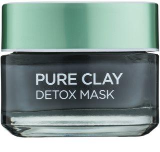 L'Oréal Paris Pure Clay masque détoxifiant