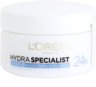 L'Oréal Paris Hydra Specialist crema de día hidratante  para pieles normales y mixtas