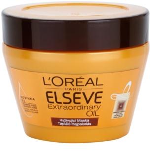 L'Oréal Paris Elseve Extraordinary Oil maszk száraz hajra