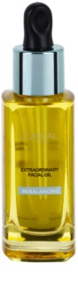 L'Oréal Paris Extraordinary Oil Rebalancing Óleo facial com 8 óleos essenciais para a restauração da perfeição da pele