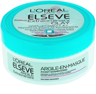 L'Oréal Paris Elseve Extraordinary Clay Cleansing Mask For Rapidly Oily Hair