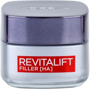 L'Oréal Paris Revitalift Filler dnevna krema za zapolnjenje gub proti staranju