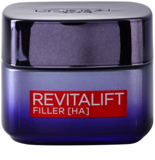 L'Oréal Paris Revitalift Filler нічний крем для заповнення зморшок проти старіння
