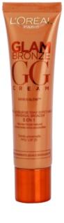 L'Oréal Paris Glam Bronze GG Cream creme bronzeador para o rosto 5 em 1