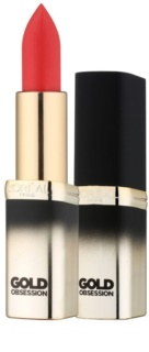 L'Oréal Paris Color Riche Gold Obsession Lippenstift mit 24 Karat Gold