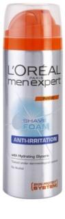 L'Oréal Paris Men Expert Anti-Irritation pena na holenie pre citlivú pleť