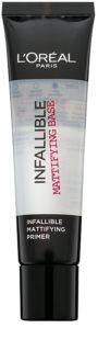 L'Oréal Paris Infallible матираща основа