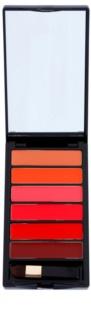 L'Oréal Paris Color Riche La Palette Glam Palette mit Lippenstiften inkl. Spiegel und Pinsel