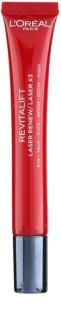L'Oréal Paris Revitalift Laser X3 szem maszk a ráncok, duzzanat és sötét karikák ellen