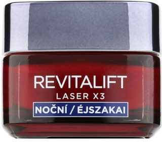 L'Oréal Paris Revitalift Laser X3 nočný regeneračný krém proti starnutiu pleti