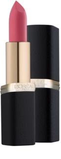 L'Oréal Paris Color Riche Matte зволожуюча помада з матуючим ефектом