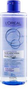 L'Oréal Paris Micellar Water água micelar bifásica para todos os tipos de pele inclusive sensível