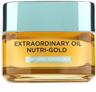 L'Oréal Paris Extraordinary Oil Nutri-Gold Lichte Voedende Oliecrème