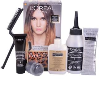 L'Oréal Paris Préférence Wild Ombrés barva na vlasy