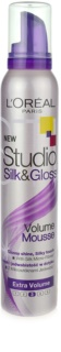 L'Oréal Paris Studio Line Silk&Gloss Volume Foam For Volume And Shine