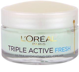 L'Oréal Paris Triple Activ Fresh Gel-Creme für normale Haut und Mischhaut