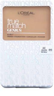 L'Oréal Paris True Match Genius тональна пудра 4 в 1