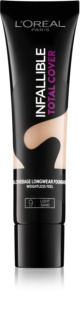 L'Oréal Paris Infallible Total Cover base duradoura com efeito matificante