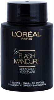 L'Oréal Paris Flash Manicure Remover odlakovač na nehty