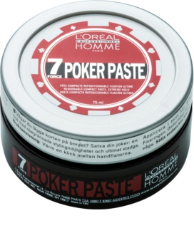 L'Oréal Professionnel Homme 7 Poker Modeling Paste Extra Strong Hold