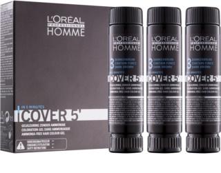 L'Oréal Professionnel Homme Color farba do włosów 3 szt.