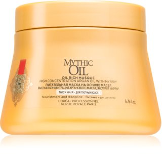 L'Oréal Professionnel Mythic Oil hranilna maska za goste in neobvladljive lase