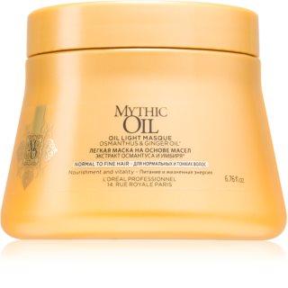 L'Oréal Professionnel Mythic Oil mascarilla de aceite para cabello seco y fino