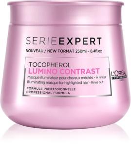 L'Oréal Professionnel Série Expert Lumino Contrast rozjasňující maska pro melírované vlasy