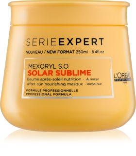 L'Oréal Professionnel Série Expert Solar Sublime подхранваща маска  за изтощена от слънце коса